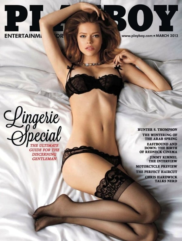 Playboy Magazine March 2013 Hunter S. Thompson Cover (Lingerie Special