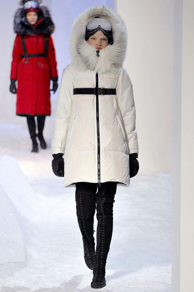Мода на пуховики этой зимой фото