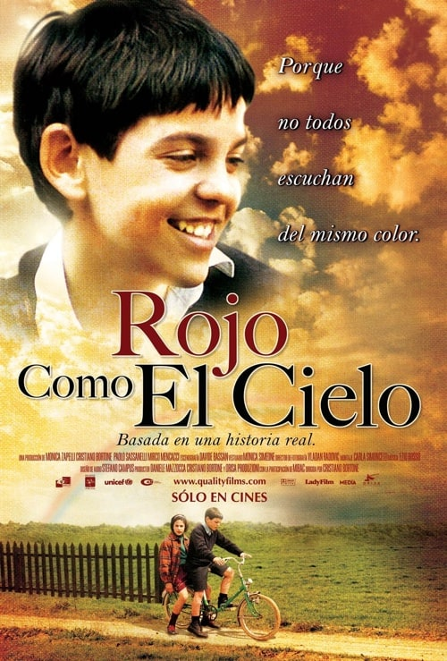 Rojo Como El Cielo (Red Like the Sky) (Rosso Come Il Cielo) [*Ntsc/region 1 & 4 Dvd. Import-latin Am