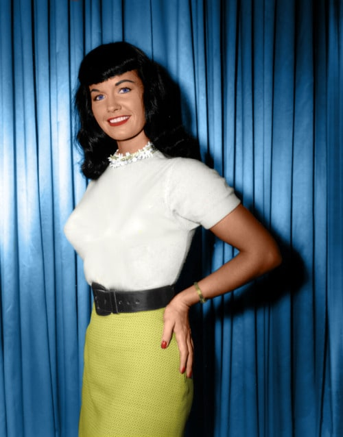 Picture Of Bettie Page Bettie Page Color