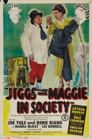 jiggs and maggie in society games