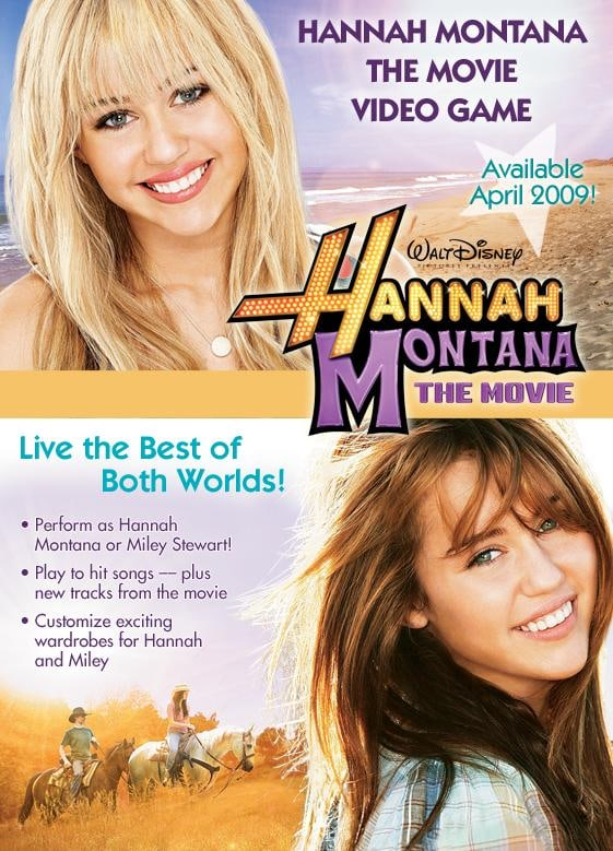 Hannah montana the movie has been added to these lists