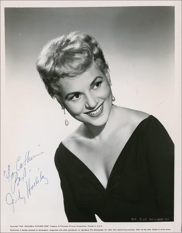 Picture Of Judy Holliday