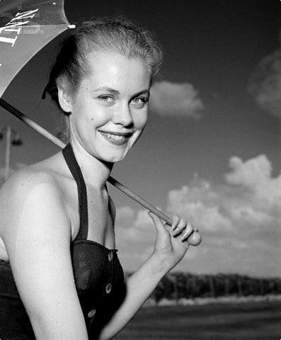 Elizabeth Montgomery young
