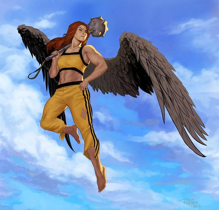 Hawkgirl: Picture Of Hawkgirl