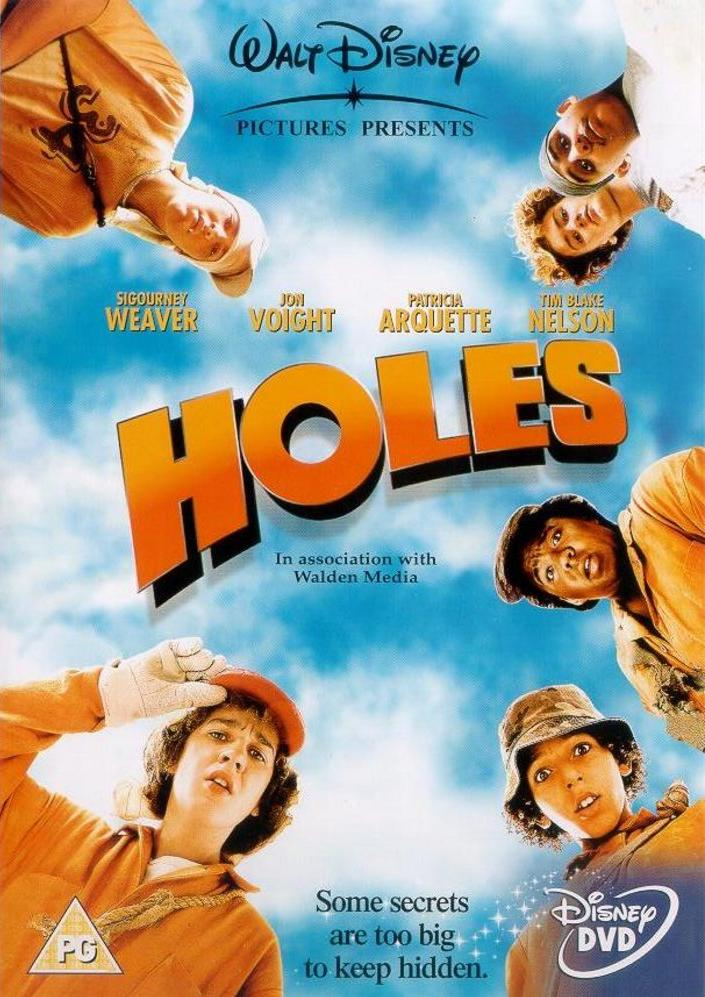 Holes book report poster