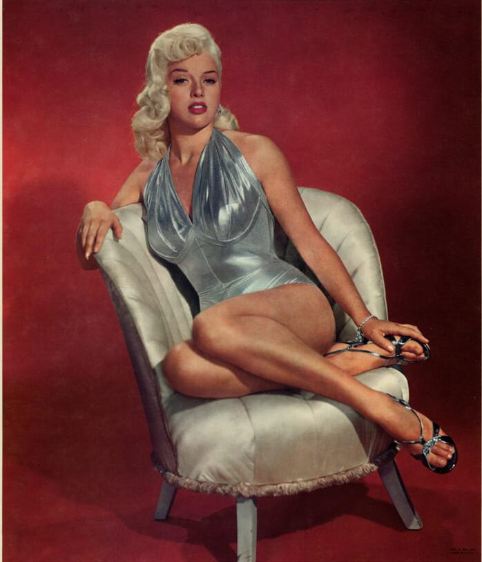 diana dors measurements