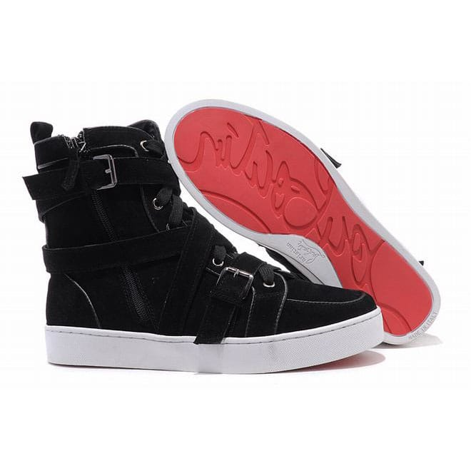 new styles e66a1 9952f Picture of Christian Louboutin Spacer Flat High Top Mens ...