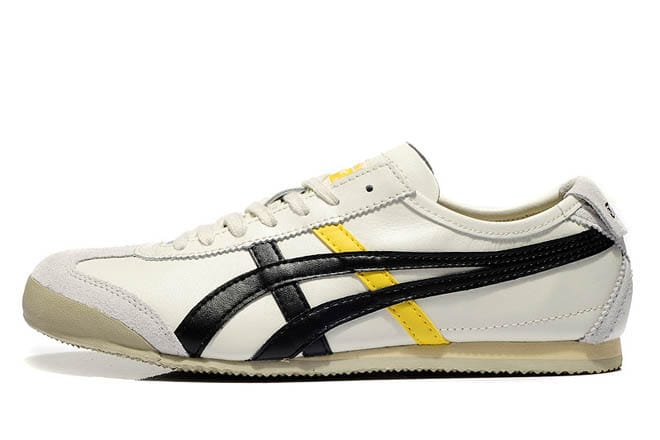 sports shoes dbad3 e24f1 Picture of Mens Onitsuka Tiger Mexico 66 Lauta Beige Black Shoes