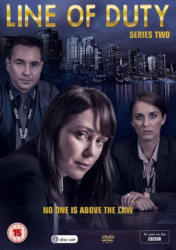 Line of Duty Series 2 DVD cover