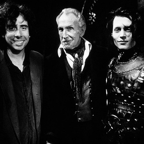 Image result for tim burton vincent price