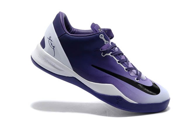 619e9e2be1eb Picture of Kobe Bryant Kobe 8 System Mambacurial Purple White Black Nike  Basketball Shoes