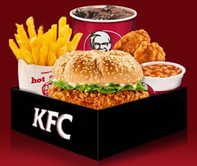 Kfc Meal Box KFC Wicked Zinger Meal has been added to these lists: