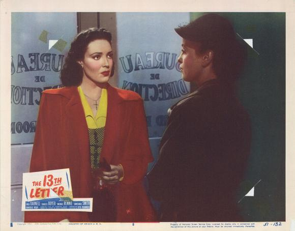 The 13th Letter                                  (1951)