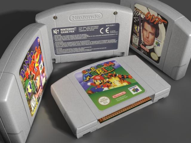 Nintendo 64 Cartridges