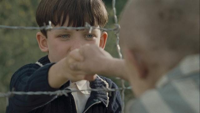 persecution in the boy in the striped The family relocates to the countryside where his father is assigned to take command a prison camp a few days later, bruno befriends another youth, strangely dressed in striped pajamas, named shmuel who lives behind an electrified fence bruno will soon find out that he is not permitted to befriend his.
