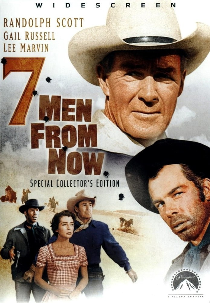 Image result for 7 men from now poster