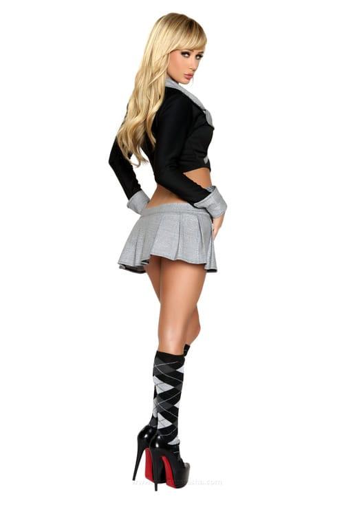 Deni's girls in tight dress & skirts