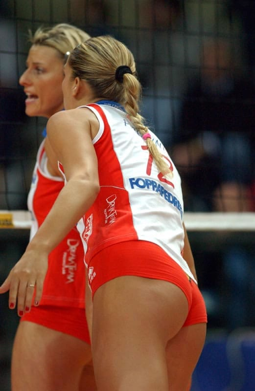 Are Volleyball player francesca piccinini