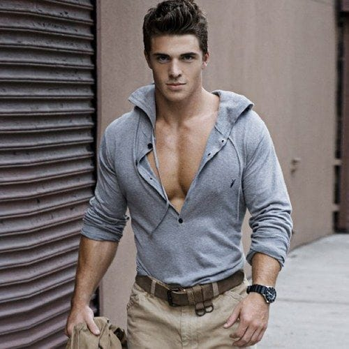 Picture of spencer neville for Dress shirts for athletic build