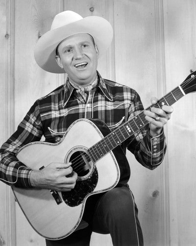 gene autry chatrooms The mighty sparrow was laid low by  a pinched nerve this followed a show at trinidad and tobago's national academy for the performing arts where he sang several songs while sitting in a chair.