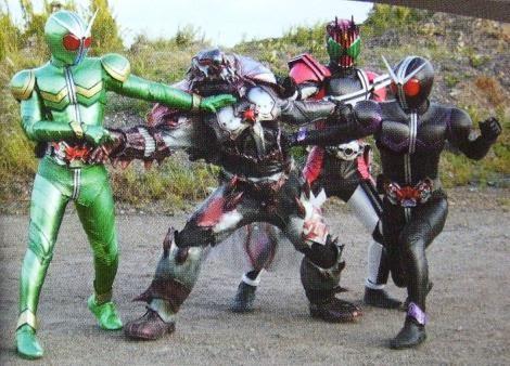 Kamen Rider Kamen Rider Double Decade Movie Wars 2010 Dapatkan Data