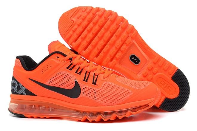 bc5c5ba818 Picture of Nike Air Max Running Shoes 2013 (Mens) Orange & Black
