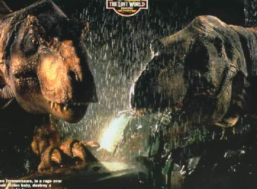 Picture of The Lost World: Jurassic Park T Rex The Lost World Jurassic Park