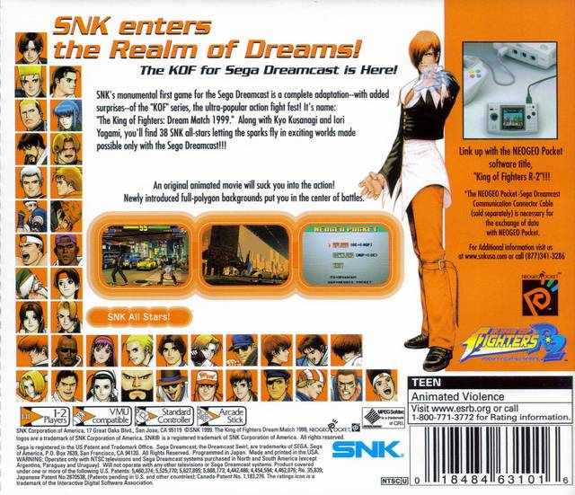 Picture of The King of Fighters: Dream Match 1999