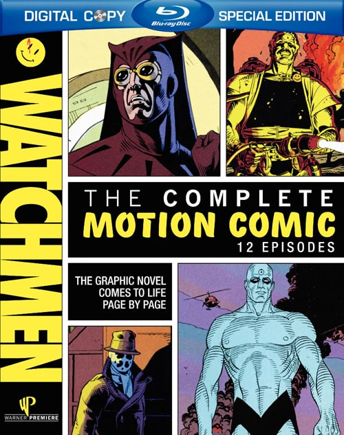 Watchmen: Complete Motion Comics   [US Import]