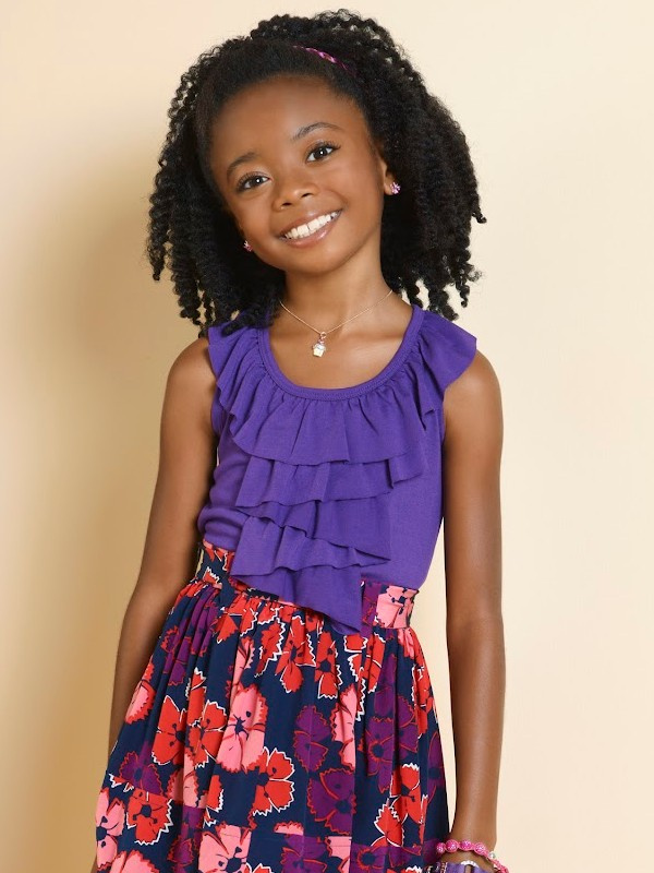 Zuri From Jessie as a Little Girl