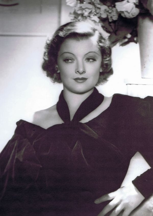 Picture Of Myrna Loy