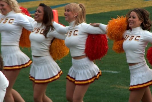 College Cheerleaders-Ooh La La!!