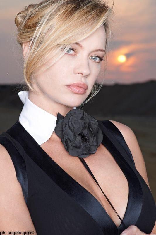 Classify Italian-Finnish model Anna Falchi