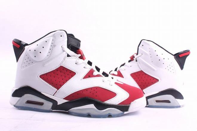 6b648e4b5a3fa6 Picture of Nike Air Jordan 6 Retro White Red Men s