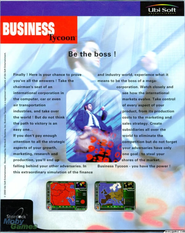 Picture of business tycoon for Business tycoon