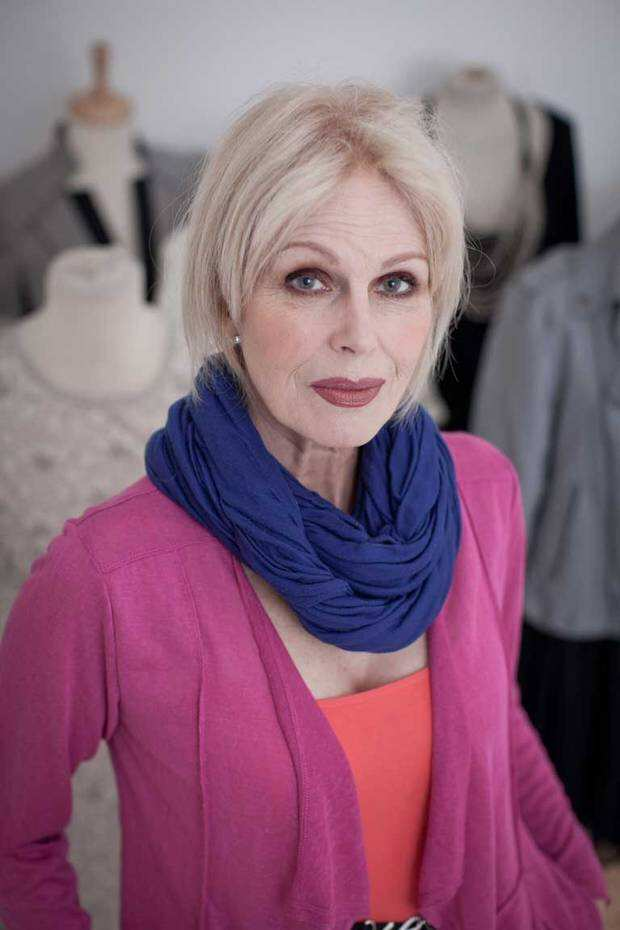 Picture Of Joanna Lumley