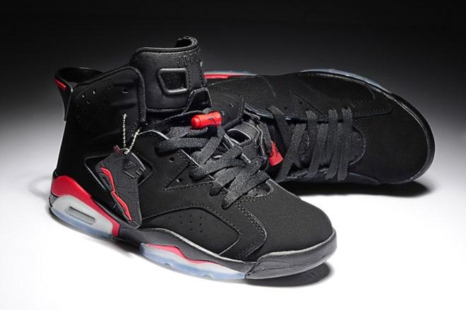 b050fa35601 Picture of Nike Air Jordan 6 Retro Black Infrared Mens Shoes