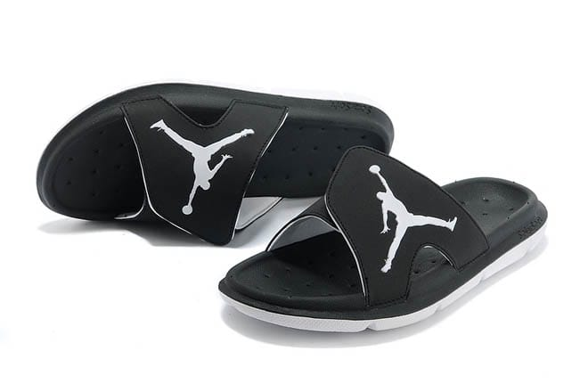 84a38a342af9 Picture of Jordan RCVR Nike Mens Slide Slippers with Black and White on Sale