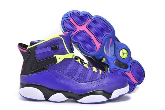 Air Jordan 6 Rings Retro Basketball Shoes The Most Wonderful