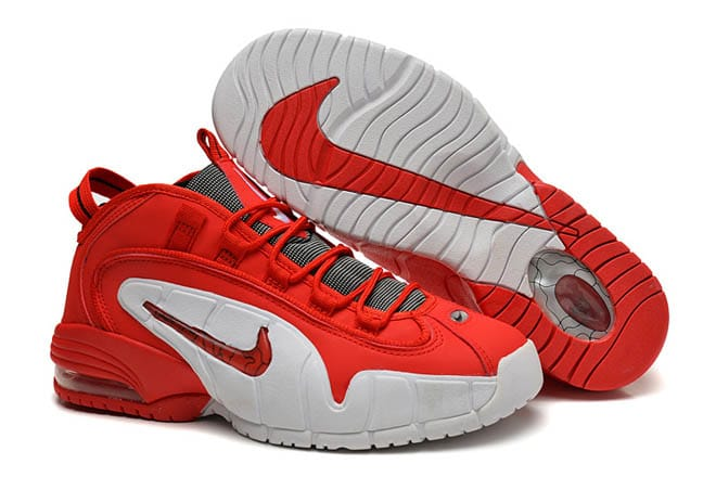 newest 7b94c 142ef ... inexpensive picture of nike new 2014 air max penny 1 retro shoes for  men red white