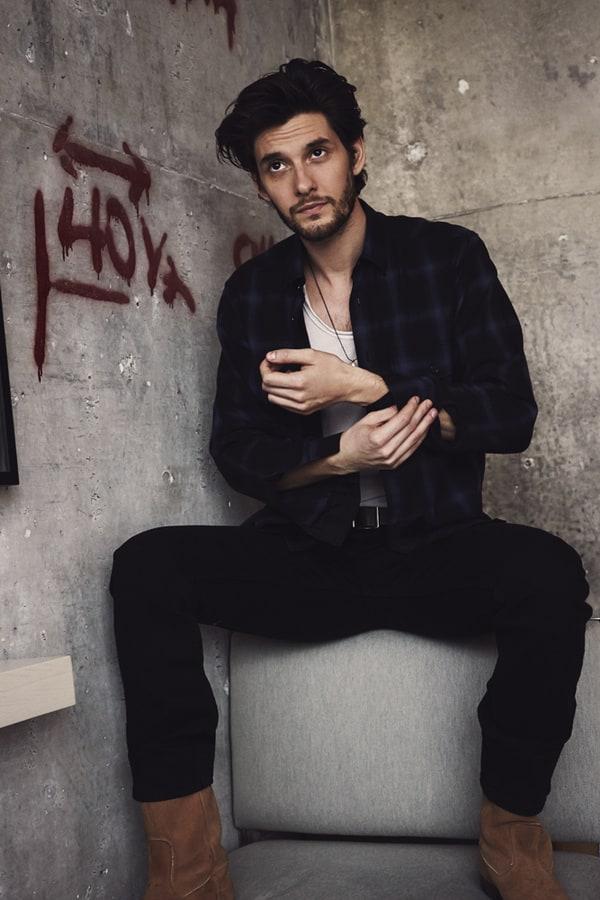 Ben Barnes For Interview Magazine