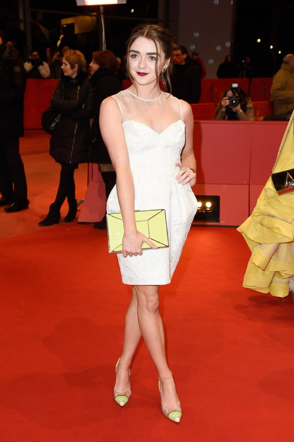 Galerry MAISIE WILLIAMS at The Falling Premiere in London HawtCelebs