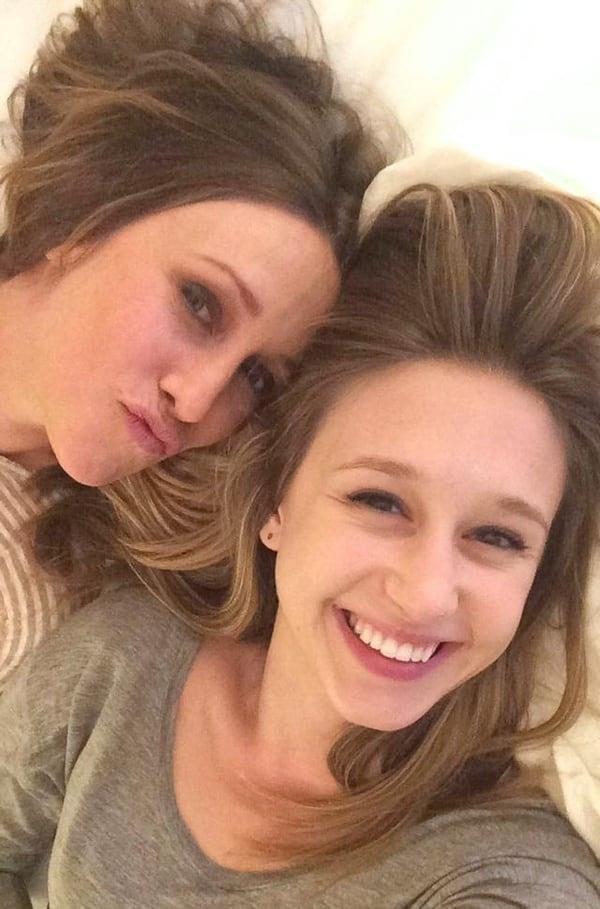 Taissa Farmiga selfie