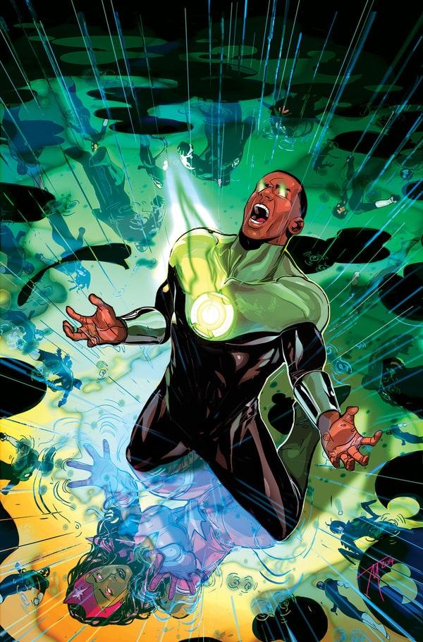 picture of green lantern stewart