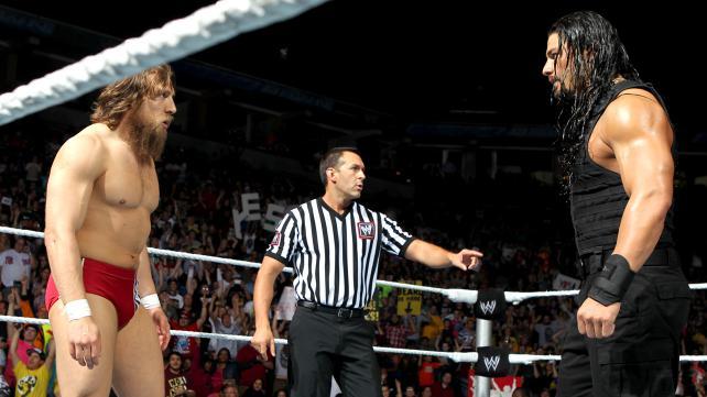 Daniel Bryan vs. Roman Reigns (WWE, Fastlane 2015)