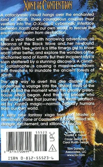 Xone of Contention: A Xanth Novel (Xanth Novels)