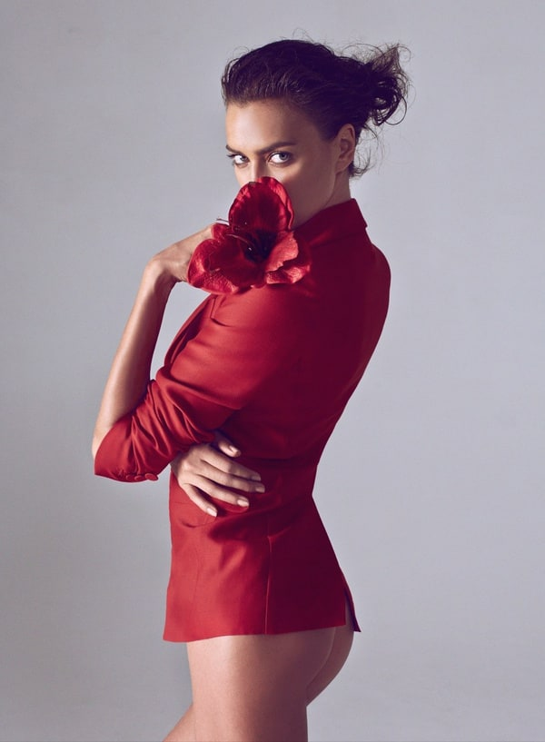 Irina Shayk for Harper's Bazaar China SS 2015