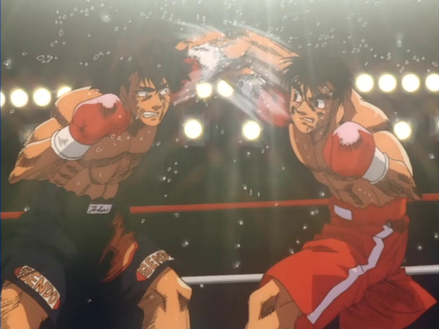 Picture of Makunouchi Ippo vs. Takeshi Sendou II