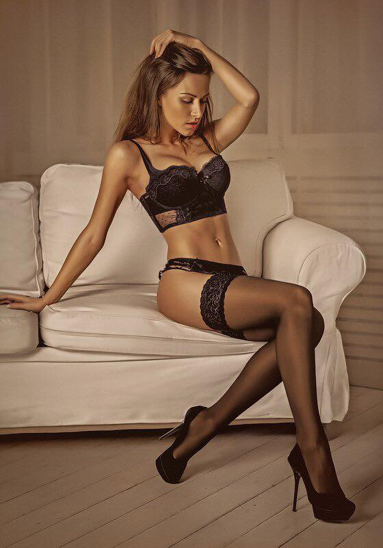Sexy russian pantyhose model